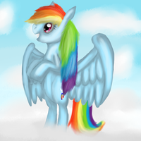 I am Rainbow Dash by shadowhedgehog65