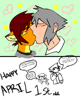 DIS IS MAI OTP 4EVR by Inkblot-Rabbit