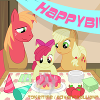 Applebloom's Birthday by TokeiTime