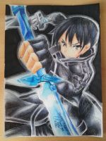 Sword art online / Kirito-kun by aBunny15