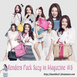 Renders Pack Suzy in Magazine #9 by mearilee27