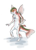 Grandfather Trout Pixie by Vogelein