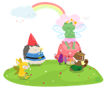 welcoming spring by supperfrogg