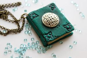 Book Pendant by Nabila1790