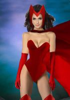 The Scarlet Witch of X-Men by Elephant883