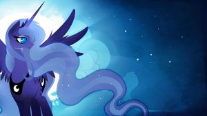 Princess Luna - Princess of the Night by Rariedash