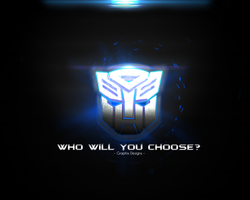 Transformers - Who Will You Choose? by GraphixDesigns