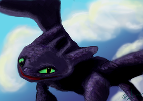 Toothless by Demonyoshi