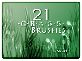 Grass Brushes by spiritcoda