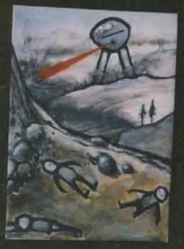 War of the worlds by maskin