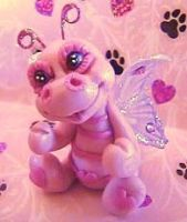 polymer clay butterfly sasha by crazylittlecritters