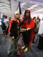 CosplayMania - Ace and Vincent by KuRiKo07