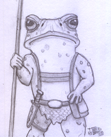 Teeny Tiny Toads frontview by tedbergeron