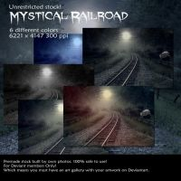 Mystical Railroad stock by Cindysart-stock by CindysArt-Stock