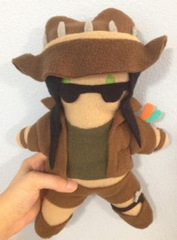 Safari Caitlyn Plush by Kayru-Kitsune
