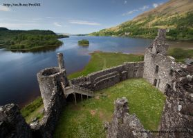 Kilchurn Castle, Scotland by Johnmckenna