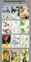 A Few of My Fav. Comic Strips by Mushmeister67