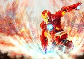 Iron Man by Haychel