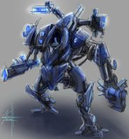 Rough Mech by OrionsHavoc