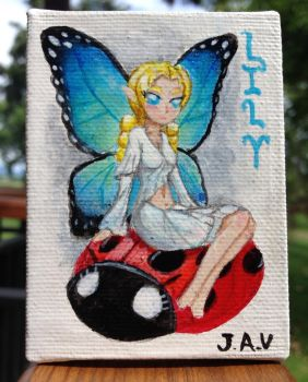 Lily the fairy  by JammeringJohn7
