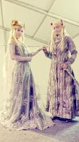 King Thranduil and Queen of Mirkwood part 2 by seawaterwitch