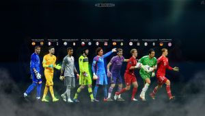 BEST GOALKEEPERS by ByWarf