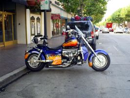 Boss Hoss 8200cc V8 motorcycle by Partywave