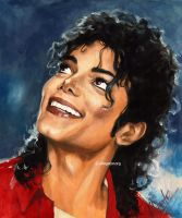 Smiling Michael by allegator