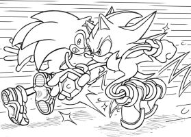sonic to my shadow by anti-tanX