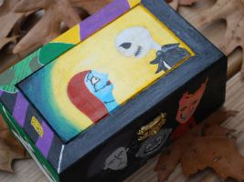 Nightmare Before Christmas Box by lemonlilly