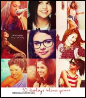 30 Displays Selena Gomez by AreMySoul