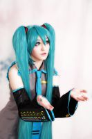 Miku Hatsune Cosplay 3 by Jemminem