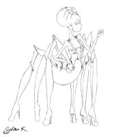 Spider Kinky Girl by LadyShogu