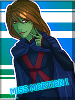Miss Martian! by Roses-Of-Ruby