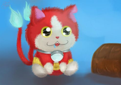 Jibanyan by Lenalee-lee