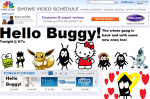 Hello Buggy TV show by TheBuggynater