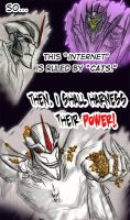 TFP: Starscream's Cats by aliceapproved