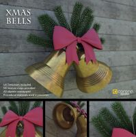 Free 3D Model: Xmas Bells by LuxXeon