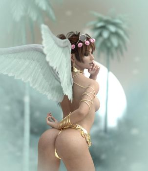 Rebeca winter Angel by BestmanPi