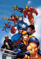 the NEW Avengers by theCHAMBA