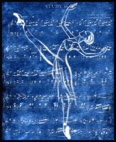 Musicality in Blue by IndigoEve