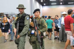 Daniel Jackson and a soldier by scoldingspirit84