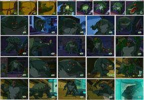 Donatello Monster Background by Stonegate