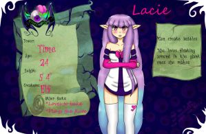HM App: Lacie Mills by Sarrie-Chan