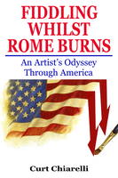 Fiddling Whilst Rome Burns Cover Illustration and  by DaVinci41