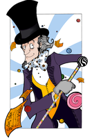 WILLY WONKA by vincentbatignole