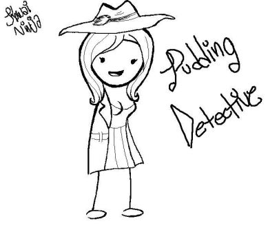 Pudding Detective [Problem Sleuth OC] by the-epicteer