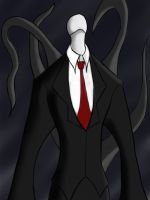 Slenderman is here... (Clear) by TheBiomex