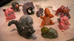 Some clay pokemon (2) by Kenseiden