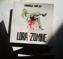 LORA ZOMBIE BOOK+VIDEO by lora-zombie